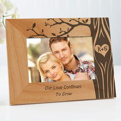 Personalized Carved In Love..