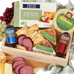 Gourmet Meat & Cheese Sampler