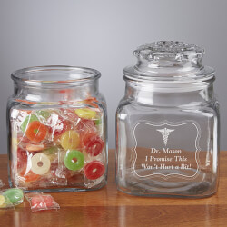 Personalized Treat Jars - Doctors..