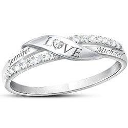 Romantic Personalized 11-Diamond..