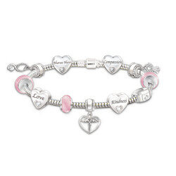Nurse Charm Bracelet With 11..