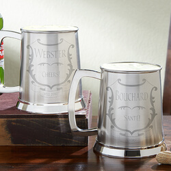 Personalized Beer Tankard - To..