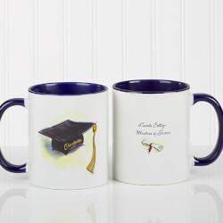 Personalized Blue Graduation..