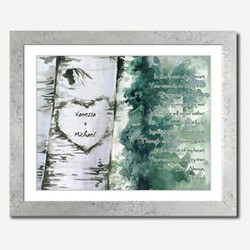 Personalized Framed Art - Forest..