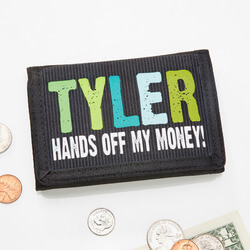 Personalized Kids Wallets - Hands..