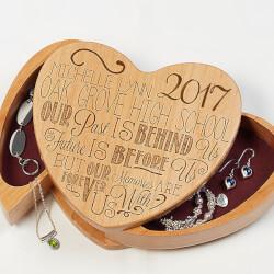Engraved Graduation Jewelry Box -..