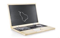 I-Wood Wooden Laptop