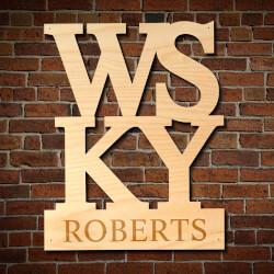WSKY Personalized Home Bar Decor