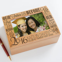 Personalized Photo Keepsake Box -..