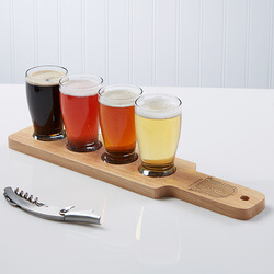 Personalized Beer Flight Set -..