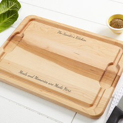 Personalized Maple Cutting Board -..