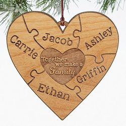 Personalized Puzzle Wood Christmas..