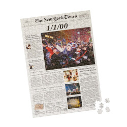 New York Times Custom Front Page..