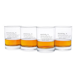Life By Definition Whiskey Glasses..