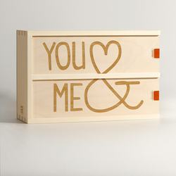 You & Me - Wine Box