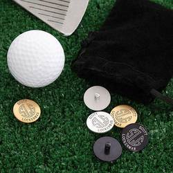 Personalized Golf Ball Markers Set..