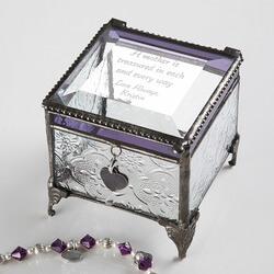 Personalized Vintage Glass Jewelry..