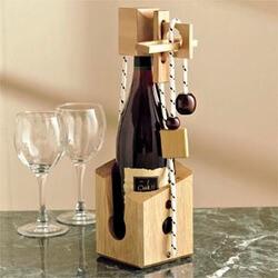 Dont Break The Bottle Wooden Wine..