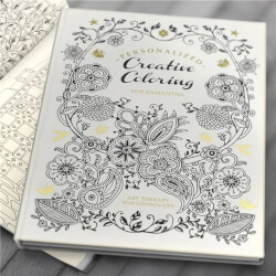 Personalized Adult Coloring Book -..
