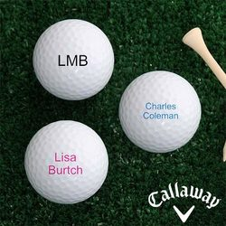 Personalized Callaway Golf Ball..