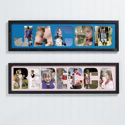 Personalized Photo Name Collage..