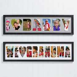 Personalized Name Photo Collage..