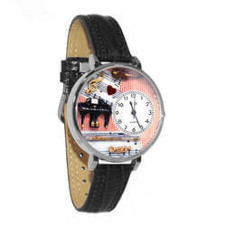Music Teacher Watch In Silver..