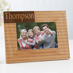 Family Name Personalized Wood..