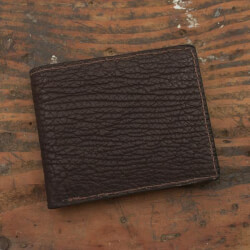 Amish Crafted Brown Shark Skin..
