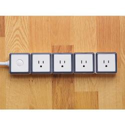 STACK: 4 Outlet Modular Surge..