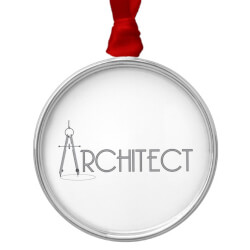 Architect Metal Ornament
