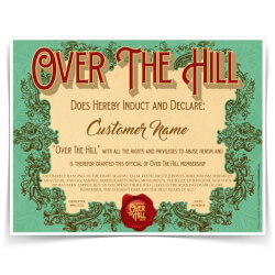 Over The Hill Membership