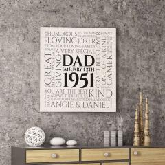 A Very Special Dad Canvas