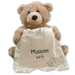 Personalized Peek A Boo Bear - By..