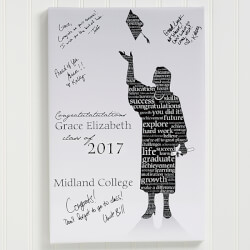 Personalized Graduation Canvas Art..