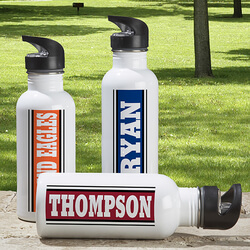 Aluminum Personalized Sports Water..