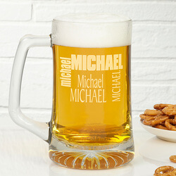 Custom Name Personalized Glass..
