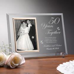 Personalized Glass Anniversary..