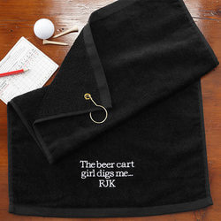 Embroidered Black Personalized..