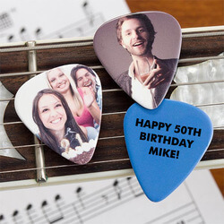 Personalized Photo Guitar Picks -..