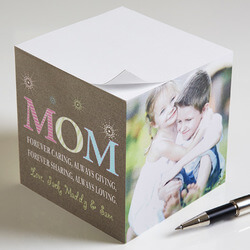 Personalized Photo Notepad Cube..