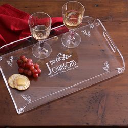 Personalized Hostess Serving Tray..