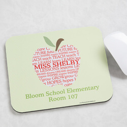 Personalized Teacher Mouse Pads -..