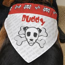 Personalized Dog Bandanas - Bad To..