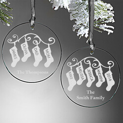 Personalized Ornaments - Family..