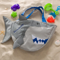 Personalized Shark Beach Tote Bag..
