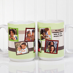 Personalized Photo Collage 15 Oz...