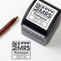 Personalized Address Stamp - Mr &..
