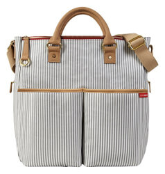 SkipHop Diaper Bag French Stripe