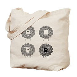 Sheep Canvas Tote Bag